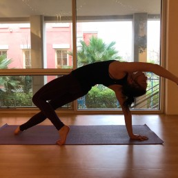 MBS Yoga Instructor in Yoga Pose