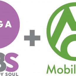 San Antonio Yoga Studios MBS Yoga and Moble Om Logo
