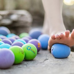 Yoga Tune Up Ball and Foot Rolling