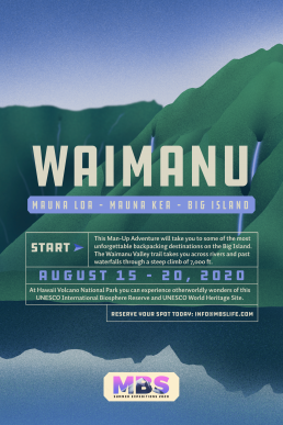 Waimanu - Mauna Loa – Mauna Kea – Big Island